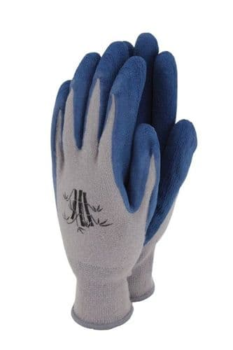 Town & Country Bamboo Gloves Navy - Large